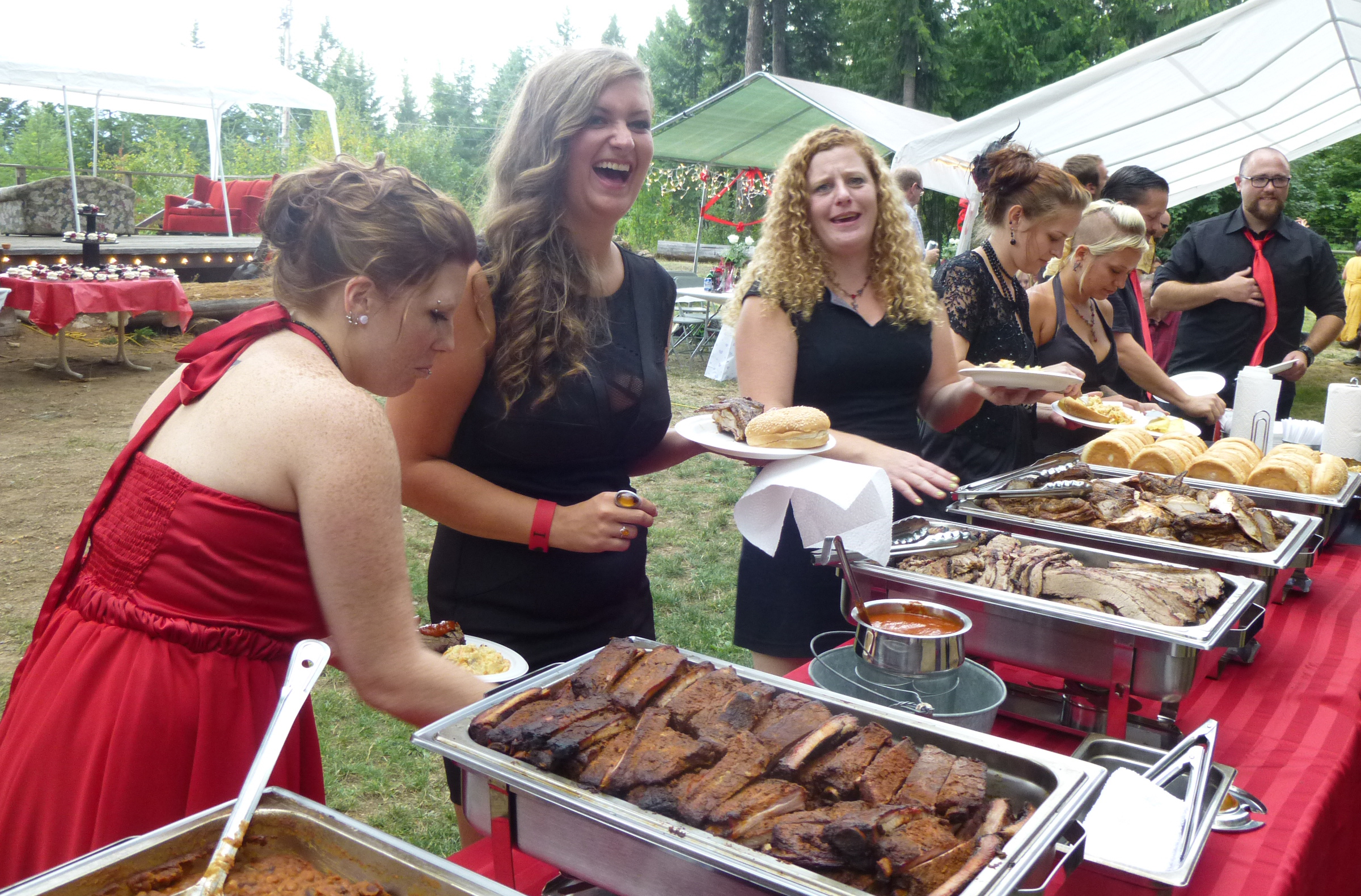 BBQ Buffet | Wicked Southern Barbeque
